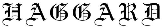 Haggard-logo