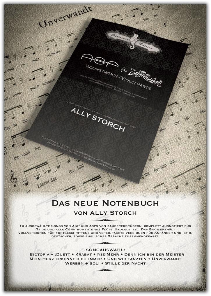 Ally Notenbuch Anzeige Papilion