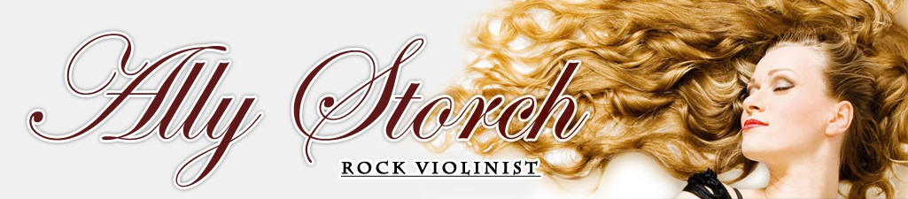 Ally-Storch.com – Rockgeigerin
